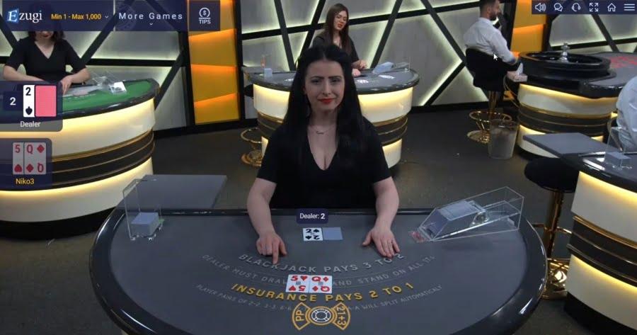 Ezugi Unlimited Blackjack